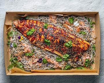 Miso Salmon Platter