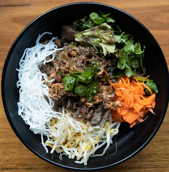 Large Vermicelli Salad - Lemongrass Beef (GF) (DF)
