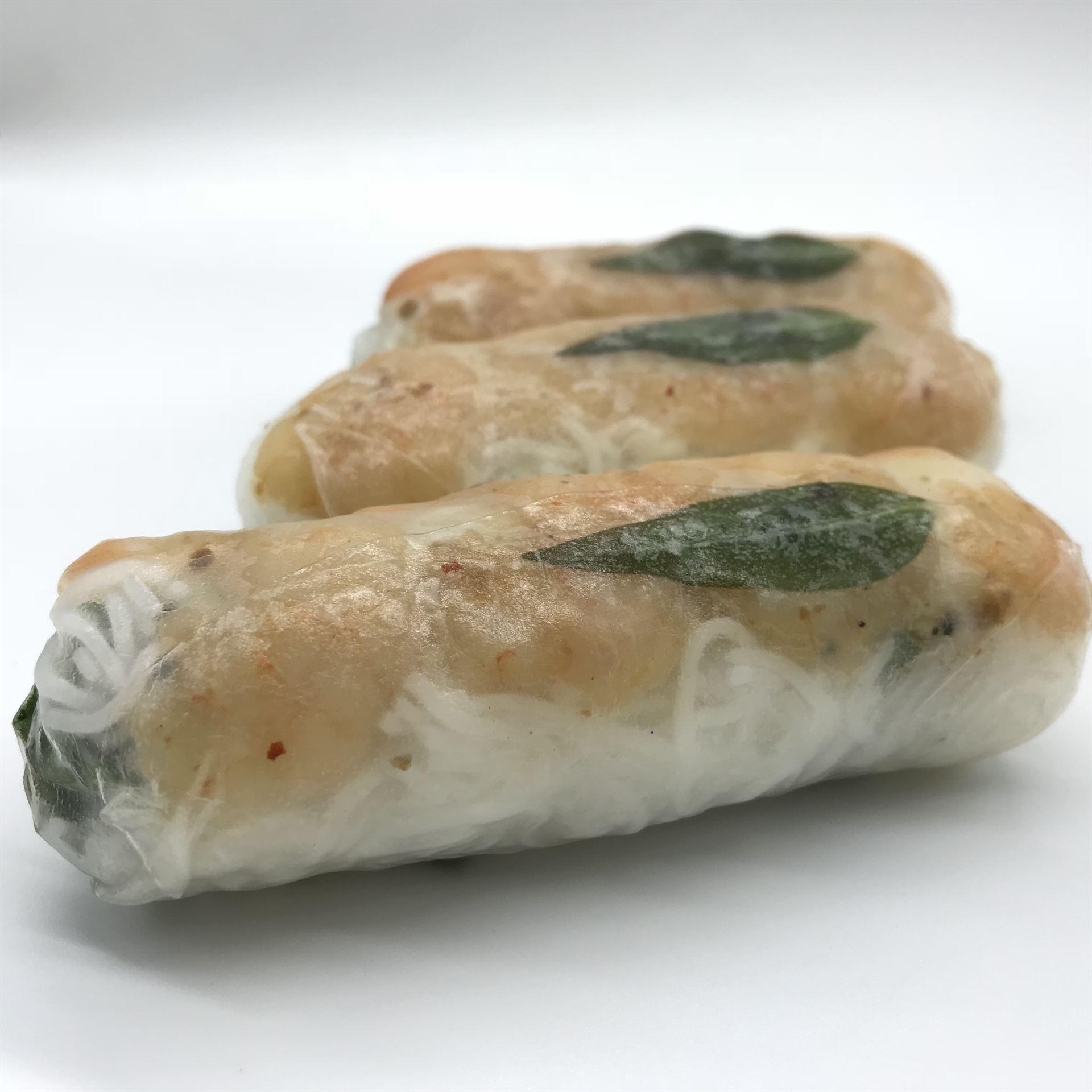 Platter - Large Rice Paper Rolls - Tiger Prawn & Green Mango (GF) (DF)
