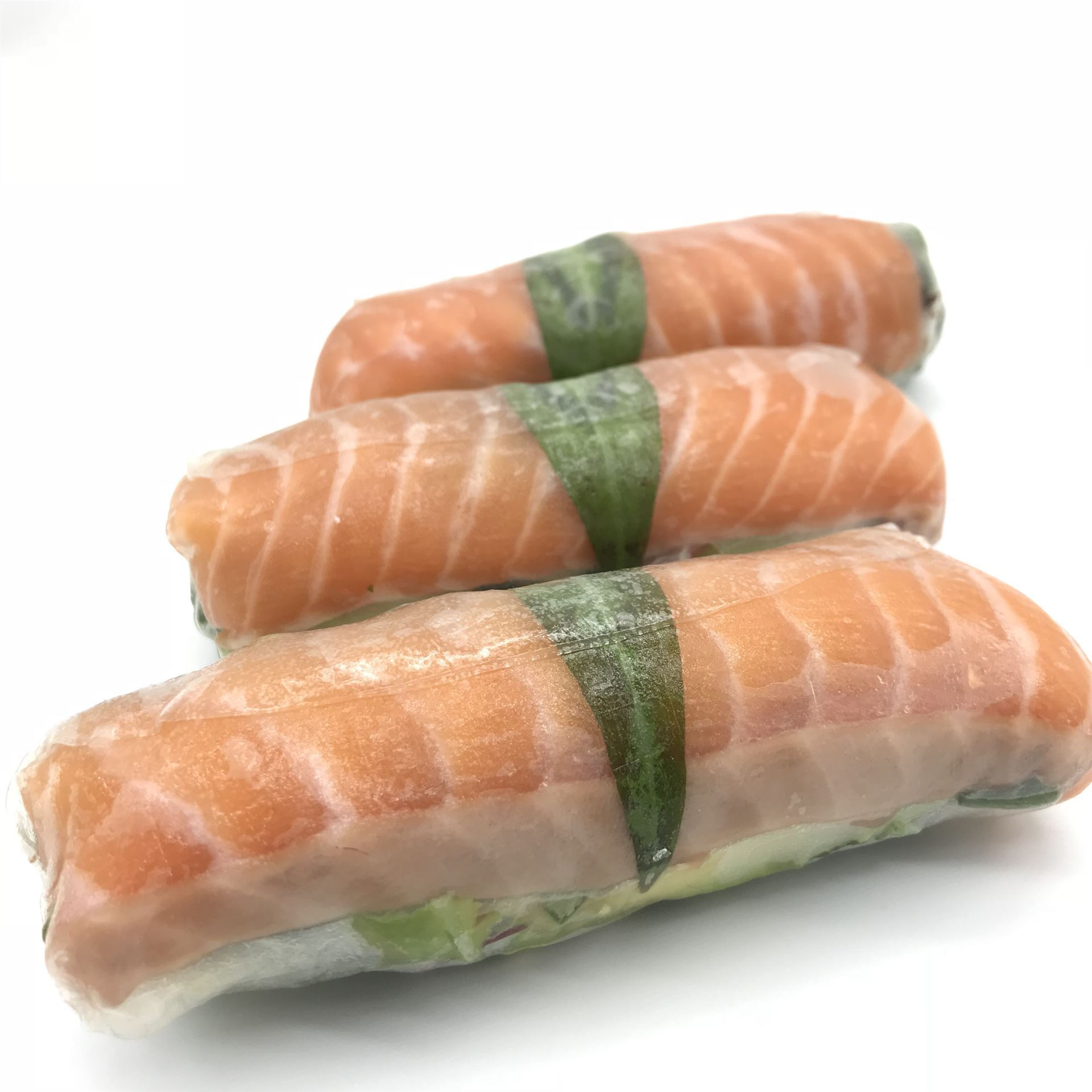 Platter - Large Rice Paper Rolls - Sashimi Salmon & Avocado (DF)