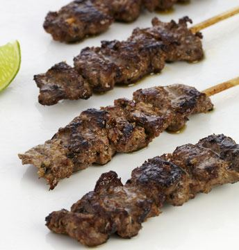 Lemongrass Beef on Bamboo Skewer (GF) (DF)