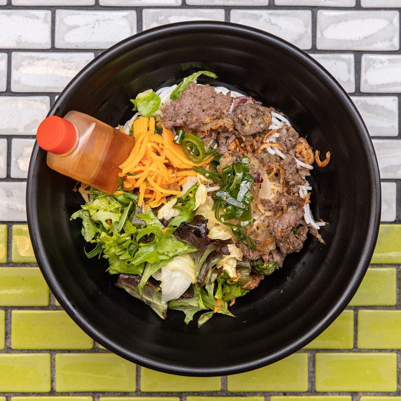 Mini Vermicelli Noodle Salad - Lemongrass Beef (GF) (DF)