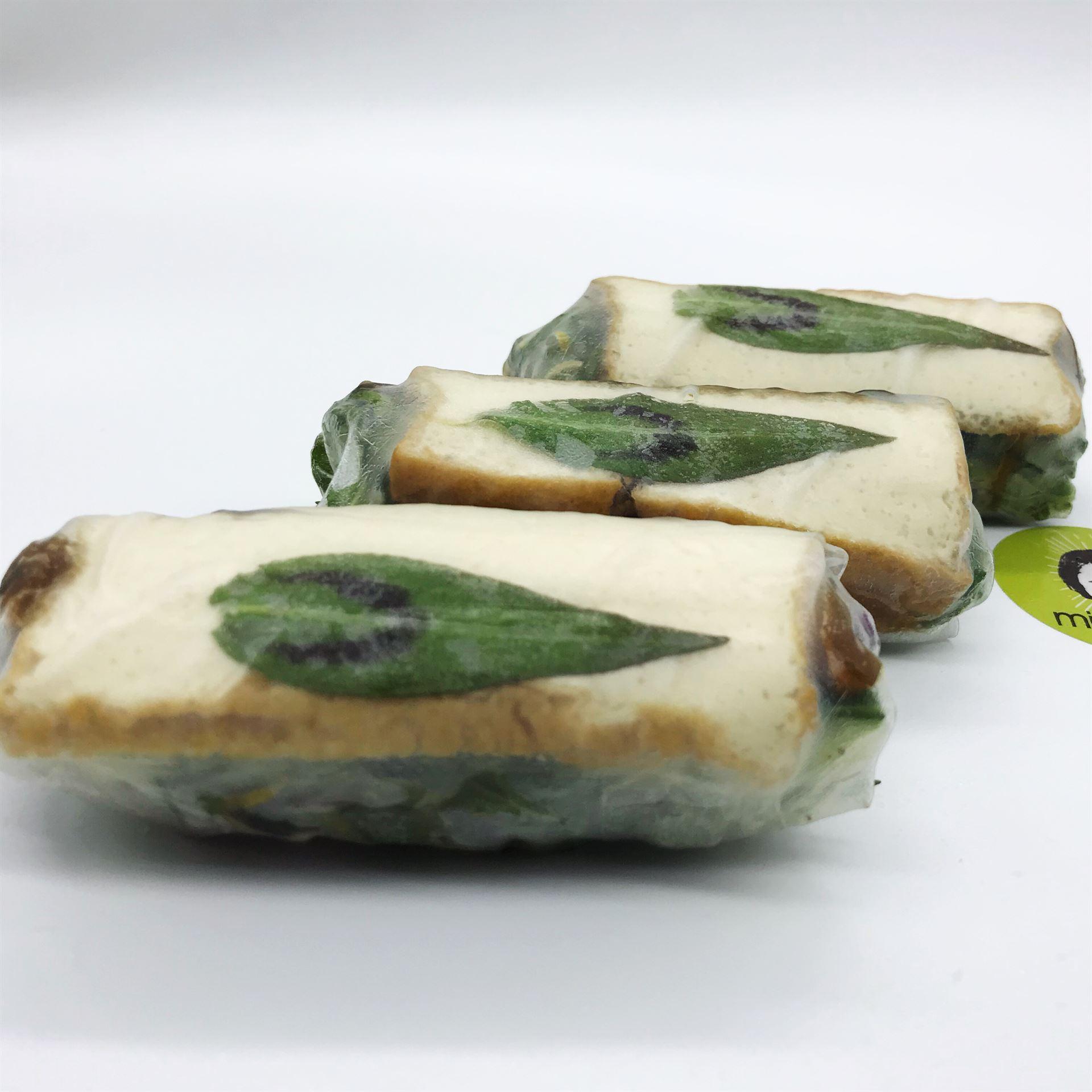 Platter - Large Rice Paper Rolls - Vegan Tofu, Mushrooms & Caramelised Onion