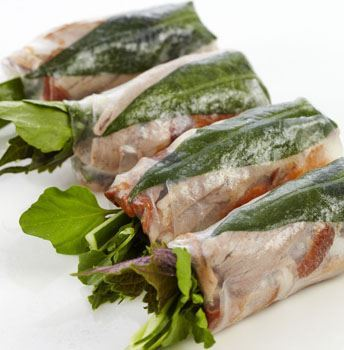 Roast Duck & Pickled Carrot Rice Paper Roll (DF)