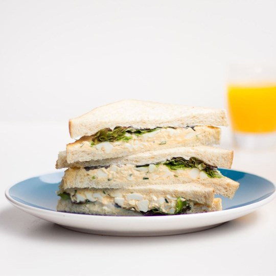 Sandwich - Egg with chives & lettuce
