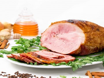 Spiral Glazed Ham Platter