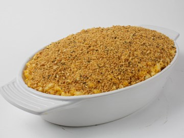 Double Baked Mac & Cheese