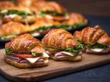Mini Sandwich & Croissant Platter