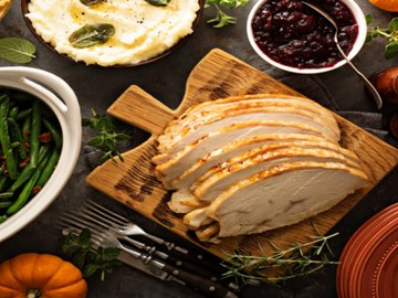 Cooked Turkey Breast (One Size)