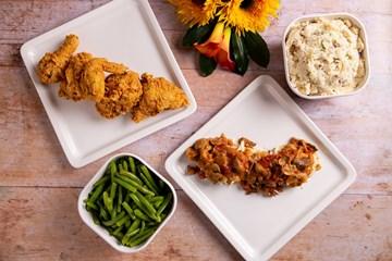 Tuesday - Fried Chicken or Chicken St. Caroline