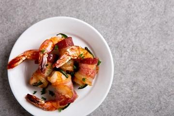 Bacon Wrapped Shrimp with Jalapeño