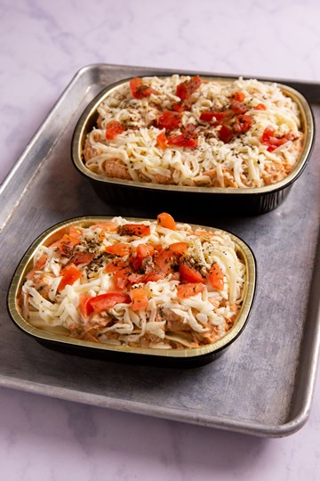 Three Cheese Chicken Lasagna