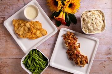 Thursday - Chicken Fried Chicken or Chicken St. Caroline