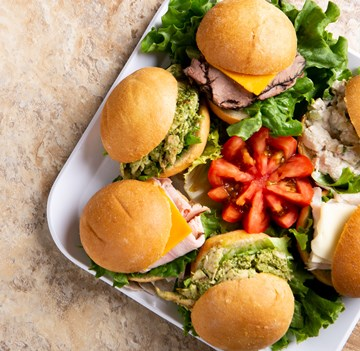 Assorted Cocktail Sandwiches