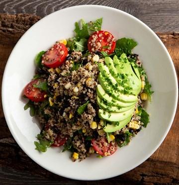 Quinoa Avocado & Kale Salad