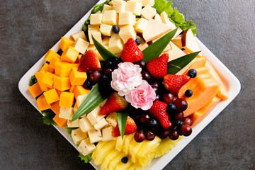 Fruit  & Cheese Tray