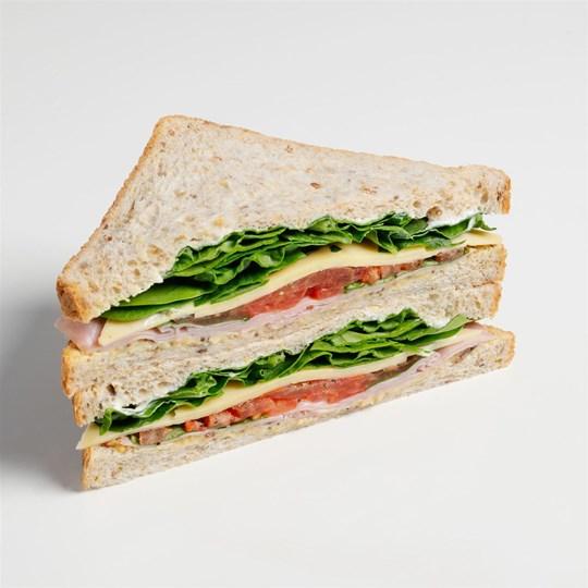 Classic Ham & Cheese Sarnie (Gluten Free)