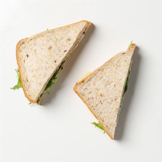 Classic Ham Salad Sarnie - (Dairy Free)