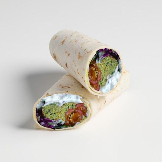 Falafel & Tzatziki Wrap