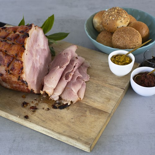 Glazed Free-Range Hams