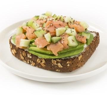 Avocado Toast - Smoked Salmon