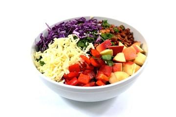 Healthy Kale Crunch Entree Salad
