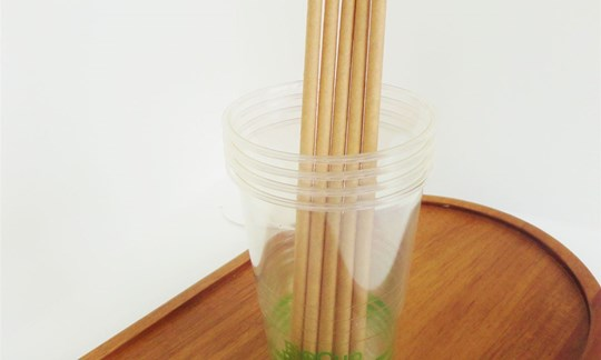 Bio-cups and straws- compostable