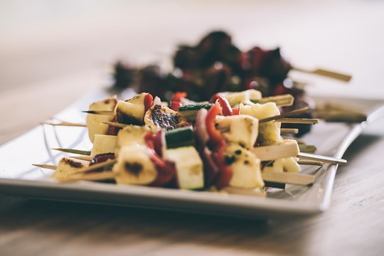 BBQ catering deluxe buffet menu- Vegetarian