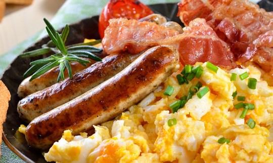 BBQ catering breakfast buffet menu