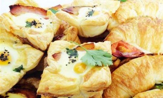 Savoury breakfast platter