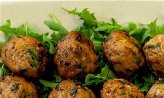 Moroccan chicken balls
