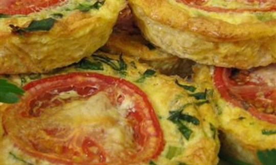Spinach and cheese rice pie