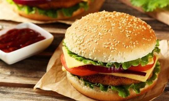 BBQ burger station