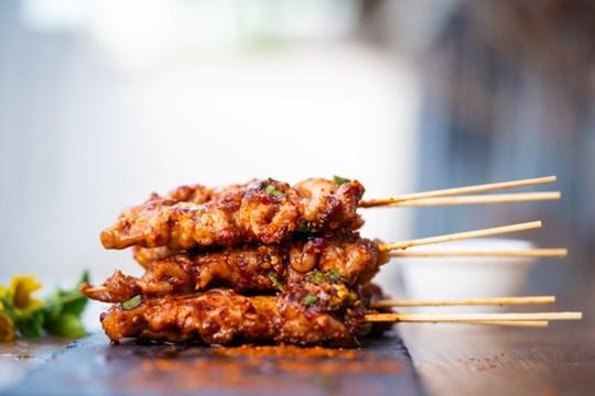 Chicken finger food platter