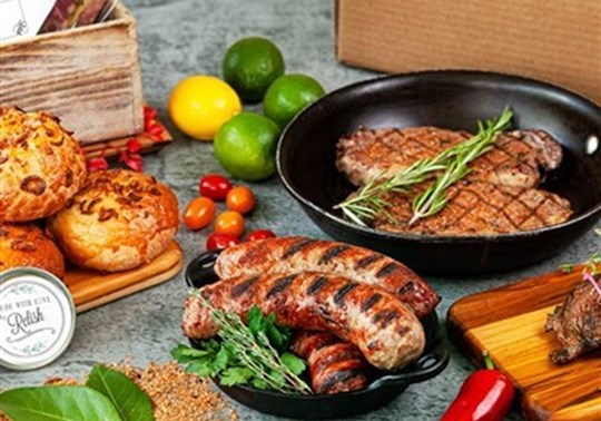 Deluxe Grill Box