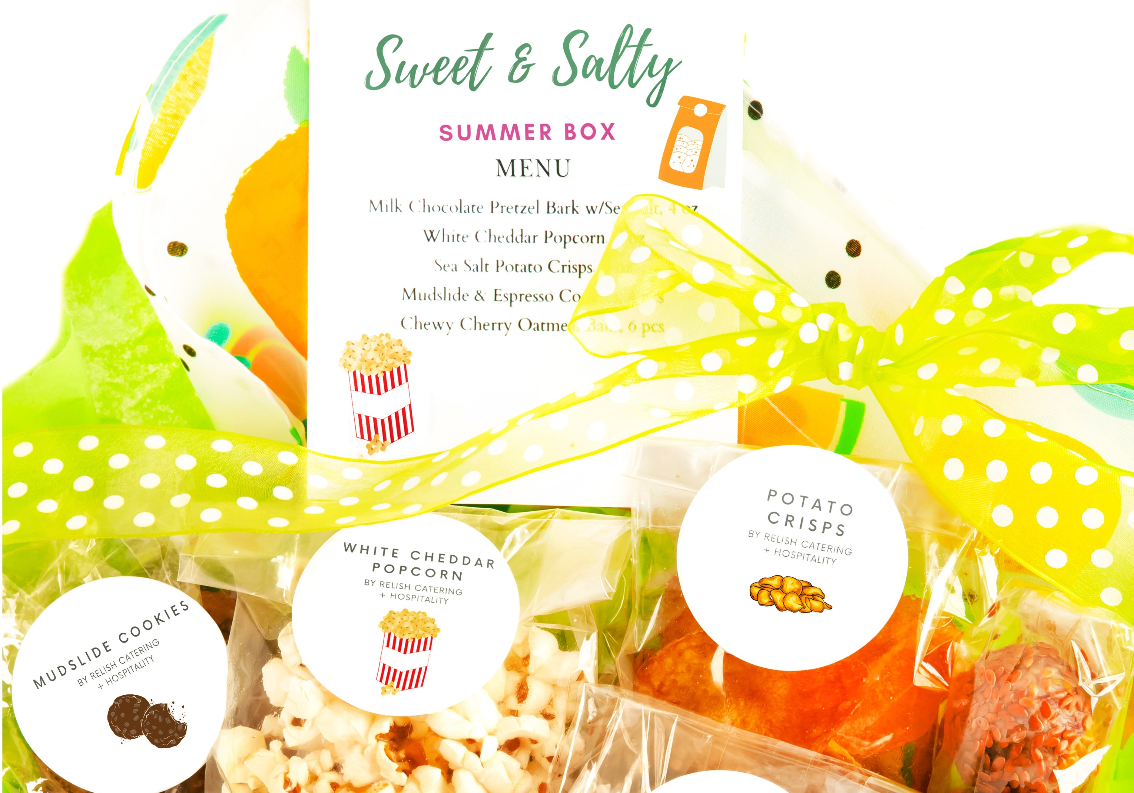 Sweet & Salty Summer Snack Box