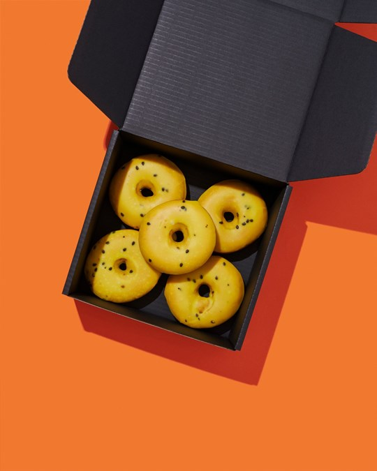 Passionfruit Doughnuts