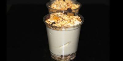 Yoghurt Cup w/ Sweet Fat Free Yoghurt & Toasted Muesli