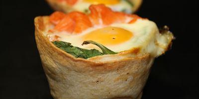 Breakfast Tortilla - Salmon & Egg