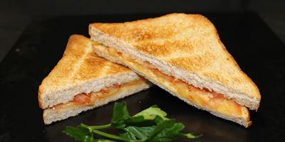 Swiss Bread Toasties - Cheese & Tomato
