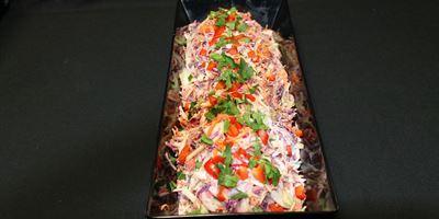 Med Tray - Coleslaw Salad - GF