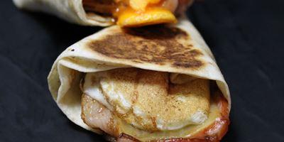 Mini Breakfast Pocket - Bacon & Egg