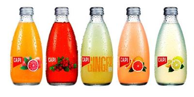 Capi 250 ml Assorted Fruit Drink Soda's