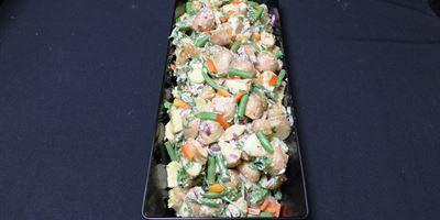 Med Tray - Potato Salad
