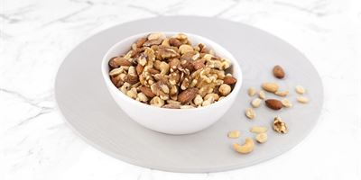 Roasted and Salted Nuts Bowl