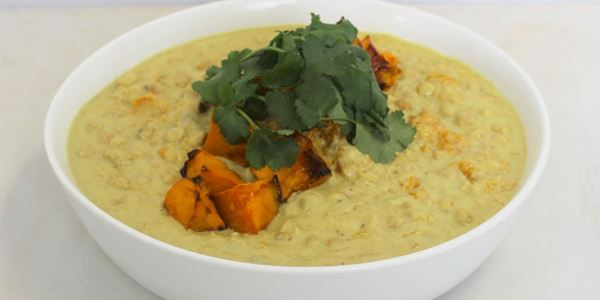 Pumpkin and Chickpea yellow Curry