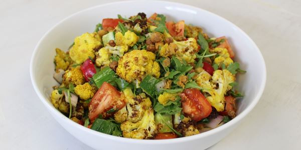Roasted Cauliflower & Cumin Salad