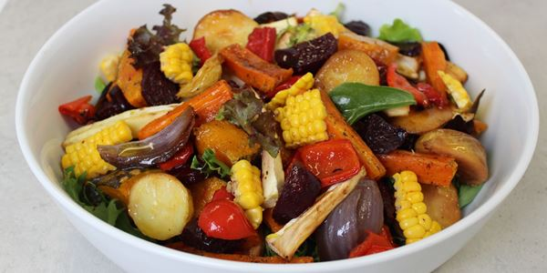 Roasted Farm Salad
