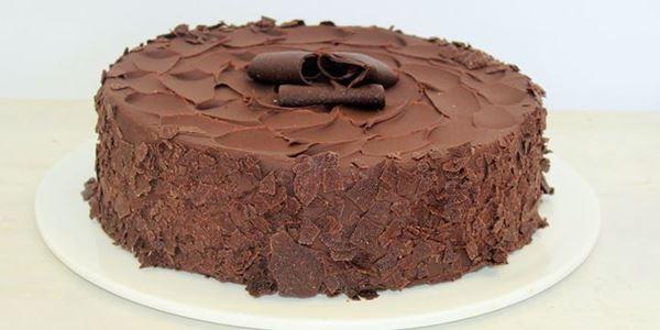 Chocolate Mud Cake - per serve