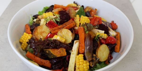 Roast Farm Vegetable Salad - HM